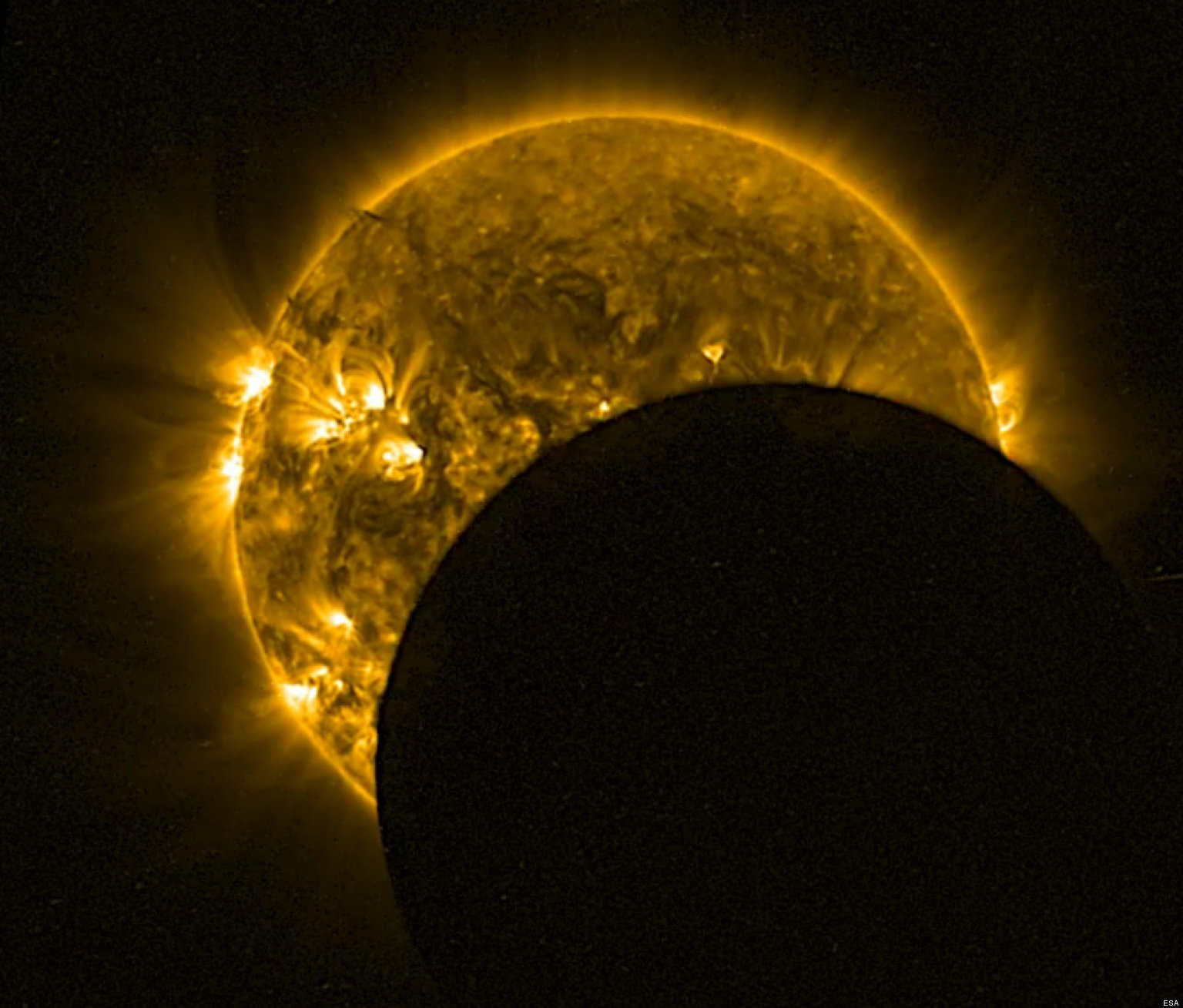 Ring Of Fire Solar Eclipse Visible In Northern Hemisphere