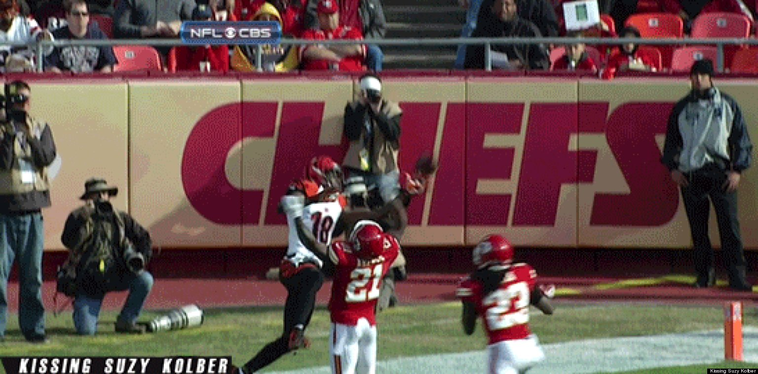 A J Green Touchdown Bengals Star Makes Amazing e Handed Catch