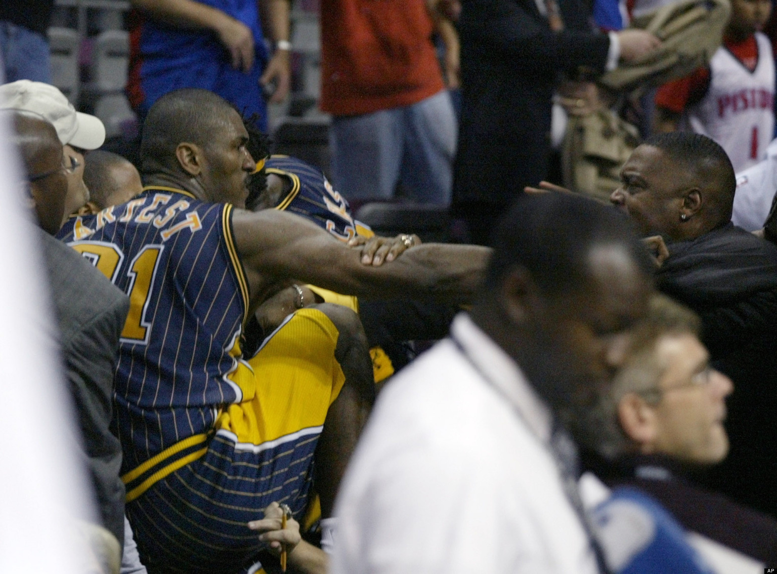 Pistons-Pacers Brawl Anniversary: Where Are 'Malice At The ...
