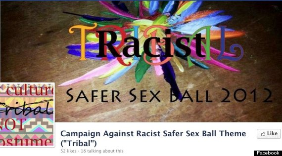 racist exeter tribal ball