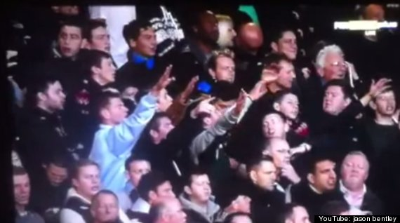 west ham united fans hitler nazi