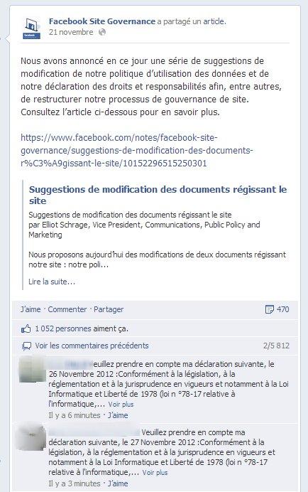 facebook site gov