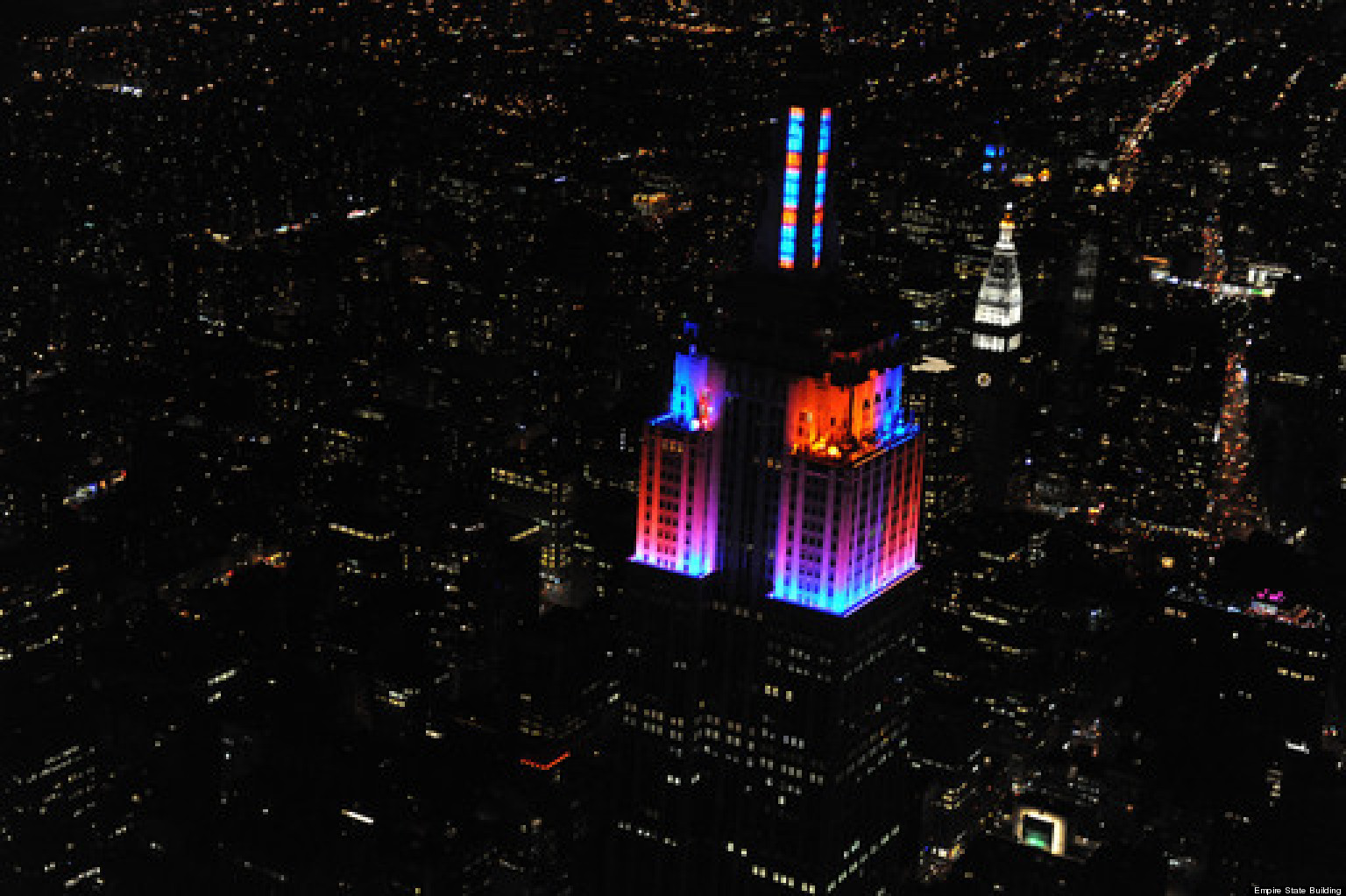 Empire State Building Light Show: LED Display Synchronized To Two Alicia  Keys Songs Over Manhattan (VIDEO) | HuffPost