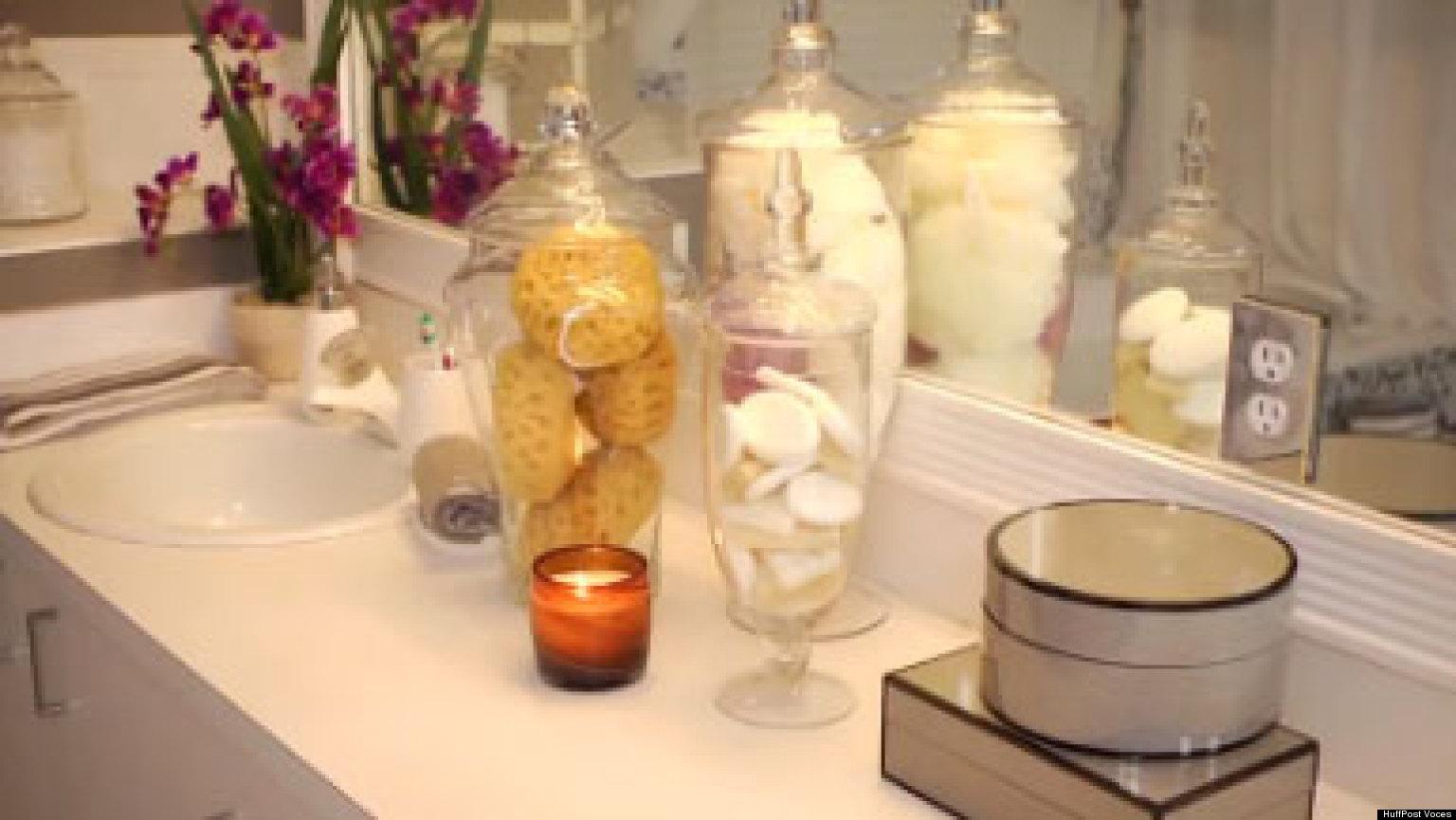 VIDEO: Añade a tu baño elementos decorativos que sirvan para ...
