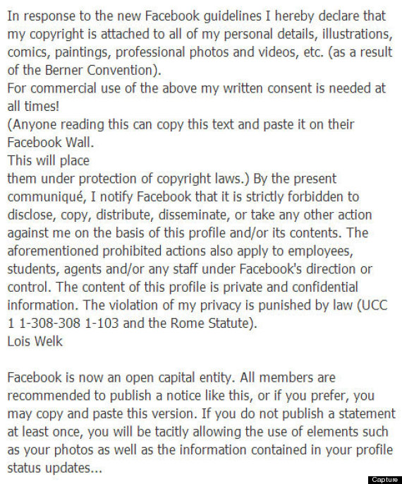facebook guideline