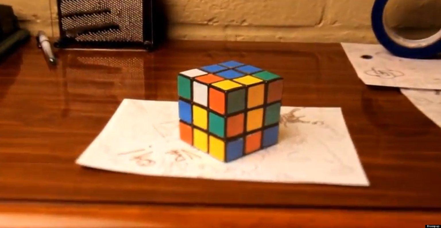 3д оптические иллюзии своими руками 85