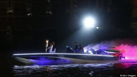 olympic speedboat