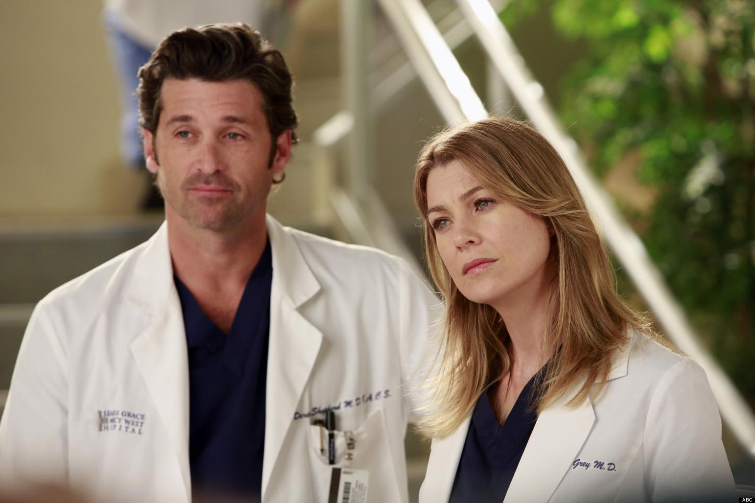 Grey\'s Anatomy\': Ellen Pompeo And Patrick Dempsey Talk Love ...