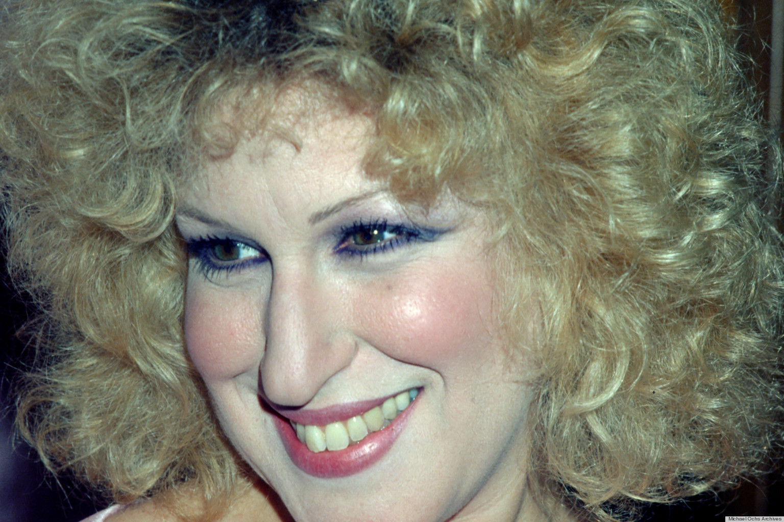 Bette Midler Style Evolution From Blue Eyeshadow To Blue
