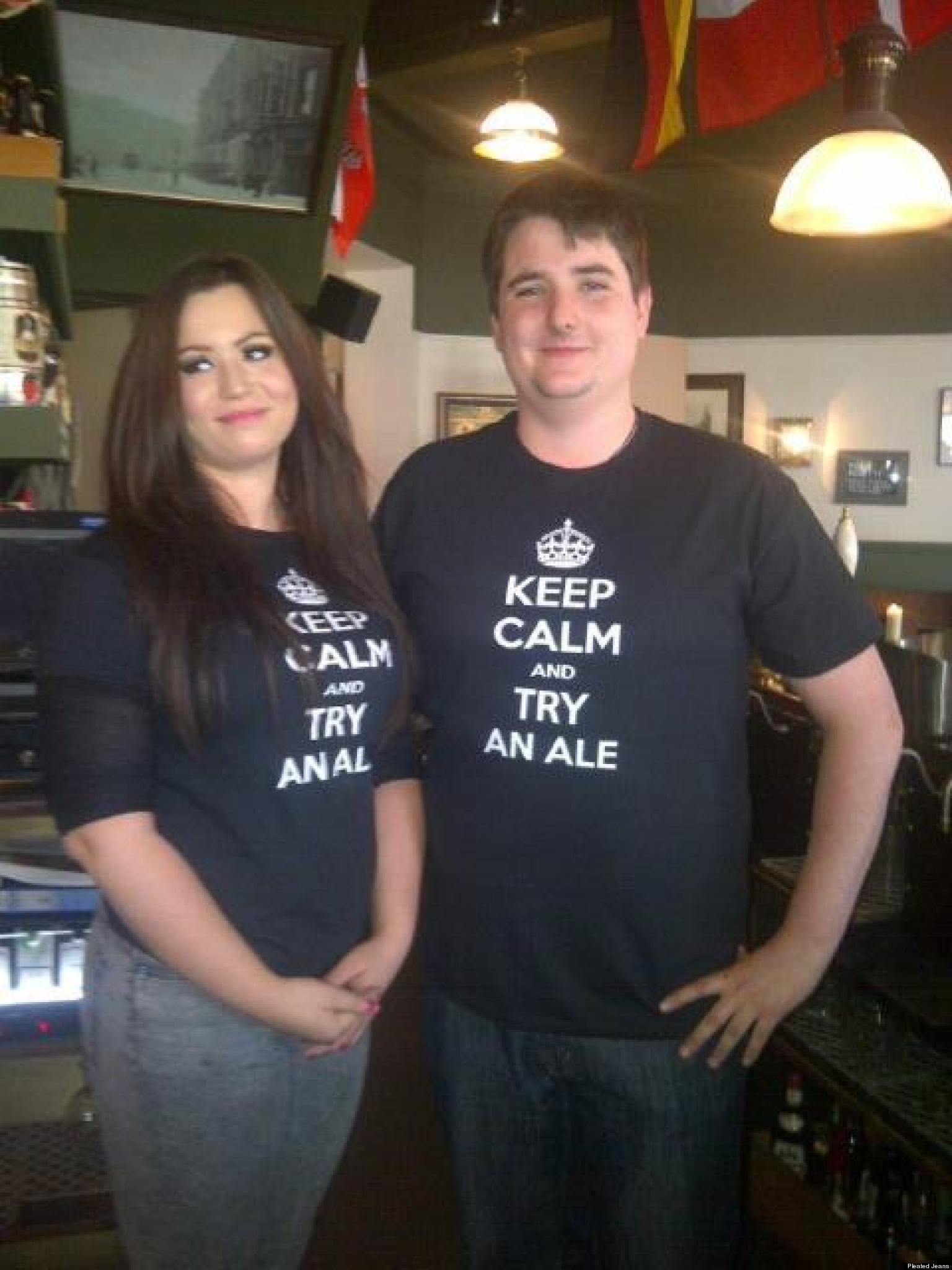 Keep Calm Custom Shirts Canada Chad Crowley Productions