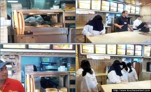 saudi waitresses