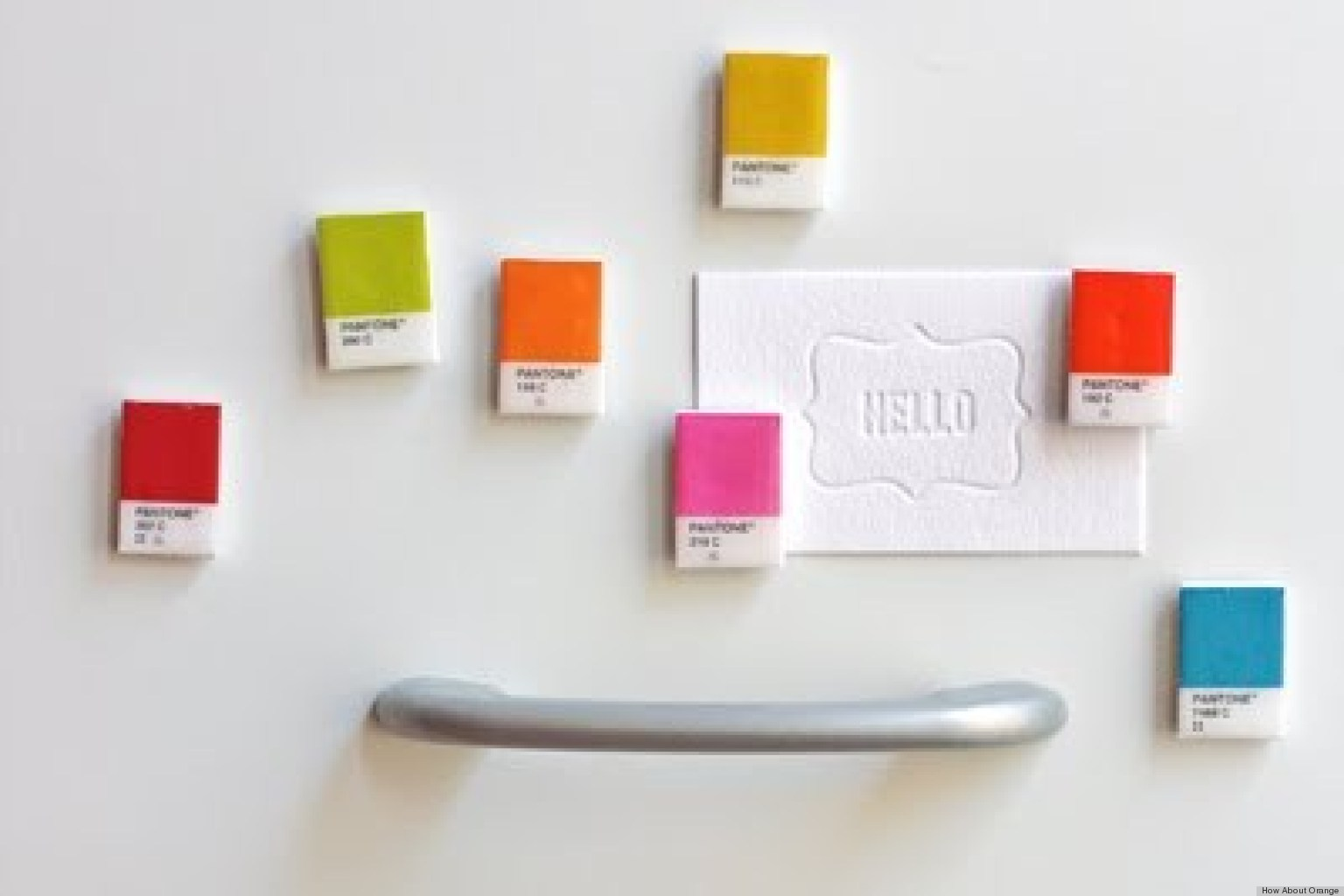 Homemade Gift Ideas: Pantone Chip Magnets | HuffPost