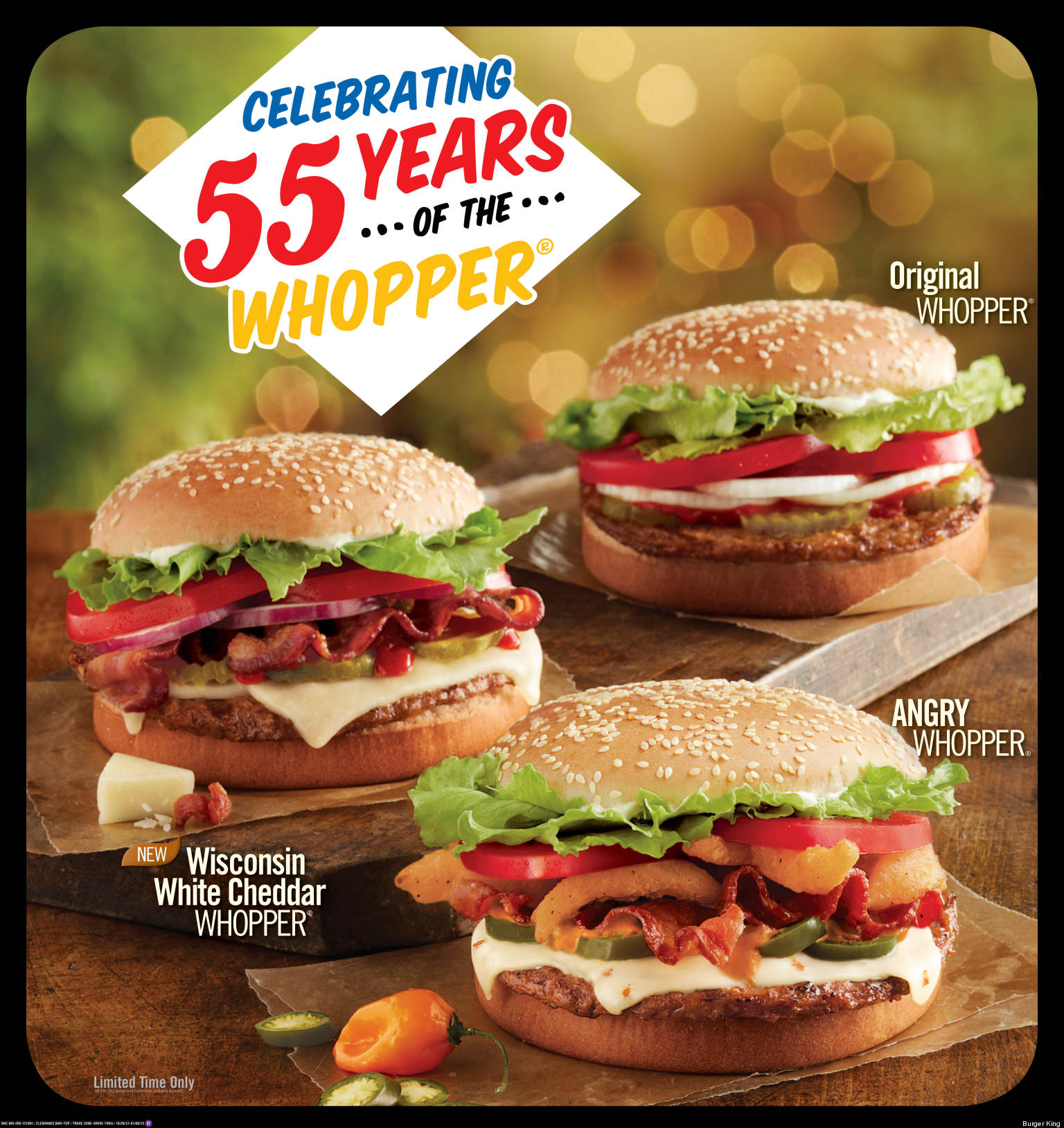 Burger King 055 Whopper Quiznos Free Cookie And More Fast Food