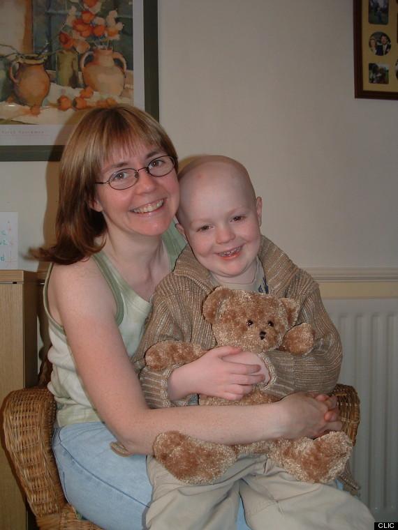 josh_during treatment1 with mum