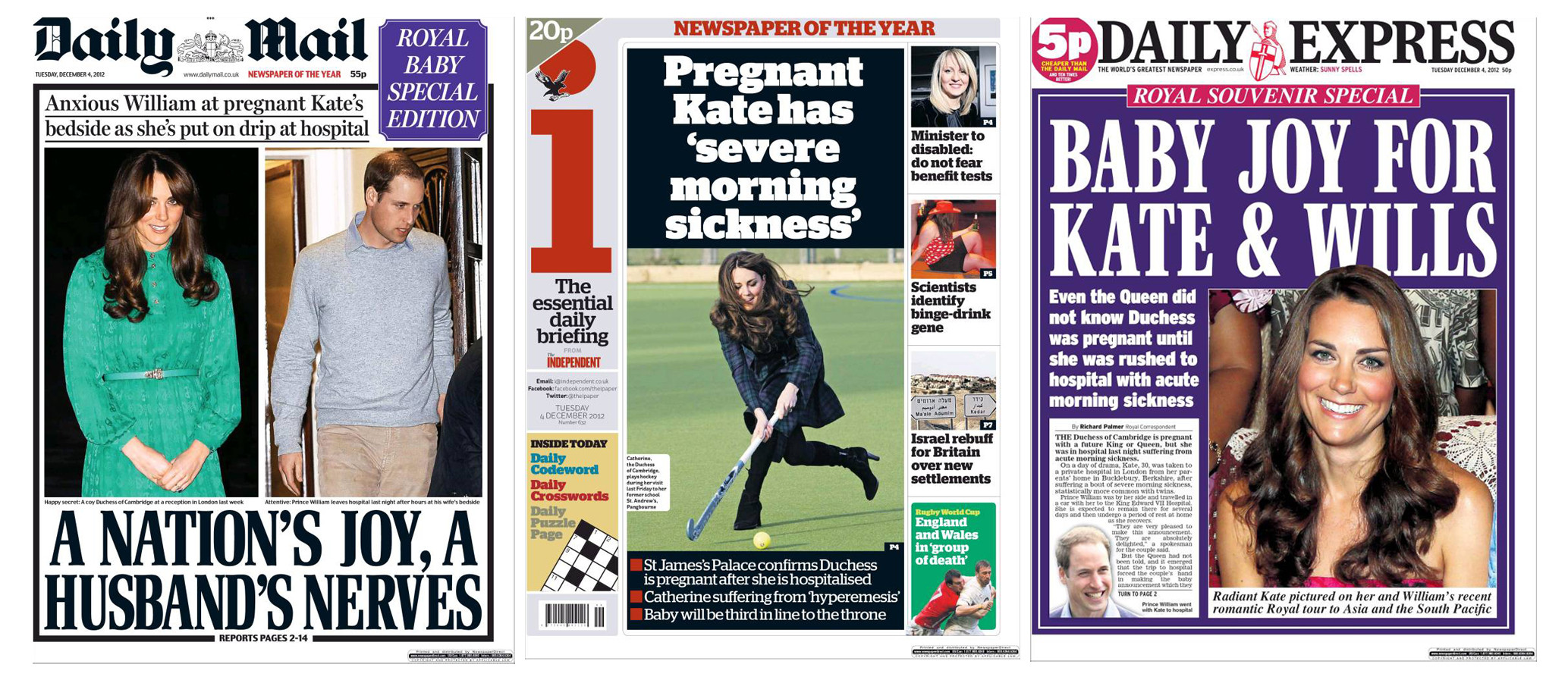 kate duchess pregnant front covers1