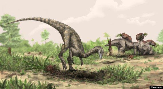 primer dinosaurio como era