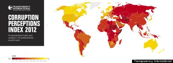 corruption map