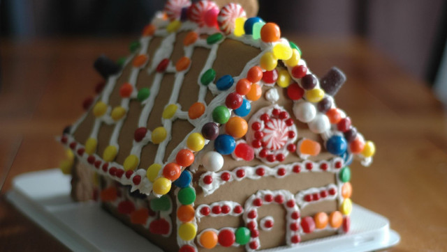 Life Size Gingerbread House Recipe Calculator