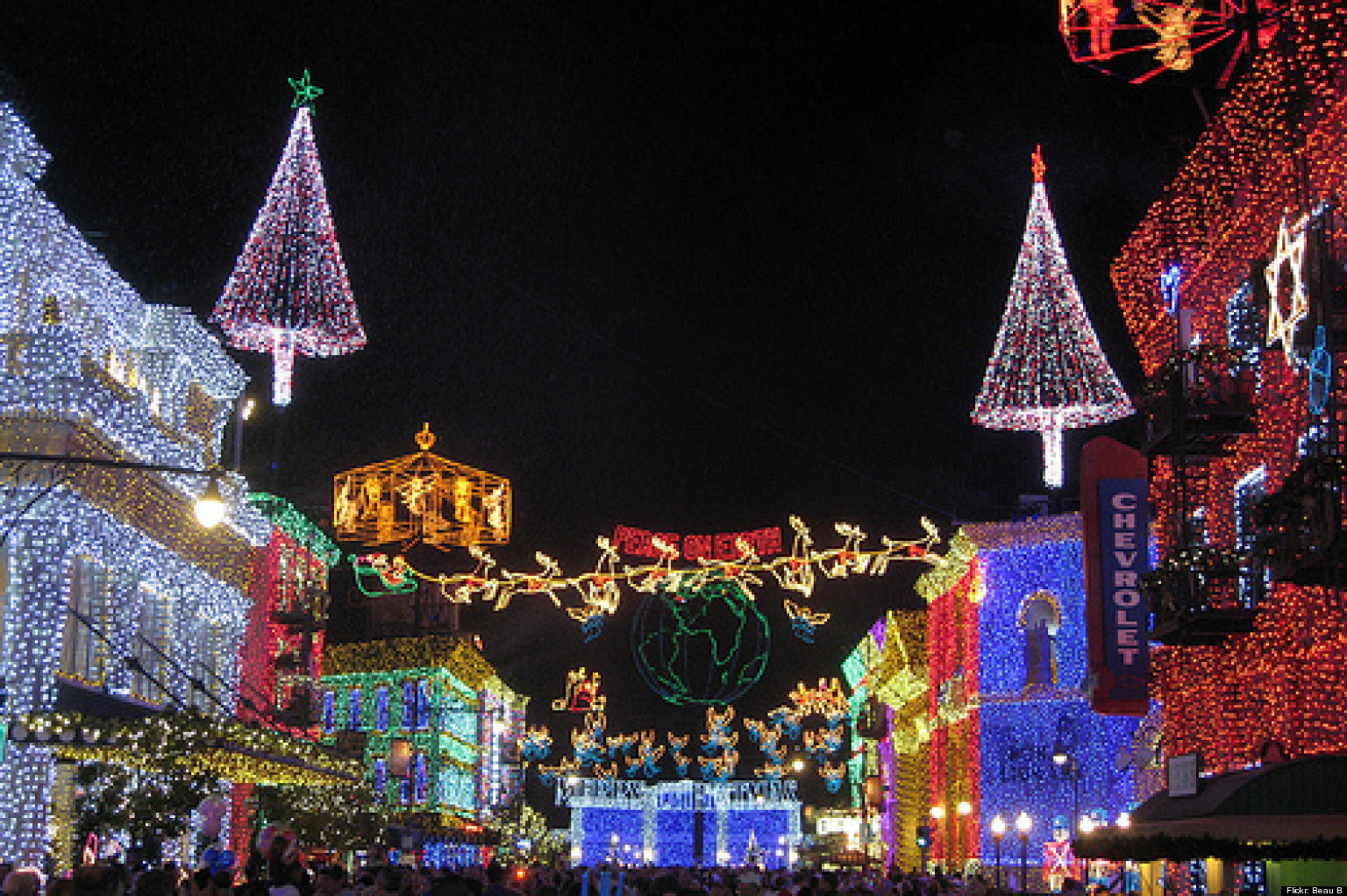 Best LA Neighborhoods For Holiday Decorations (PHOTOS) | HuffPost