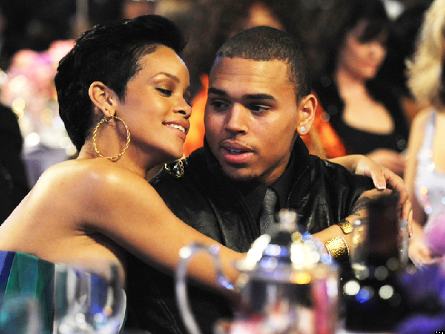 chris brown rihanna back together again why we can t look away huffpost