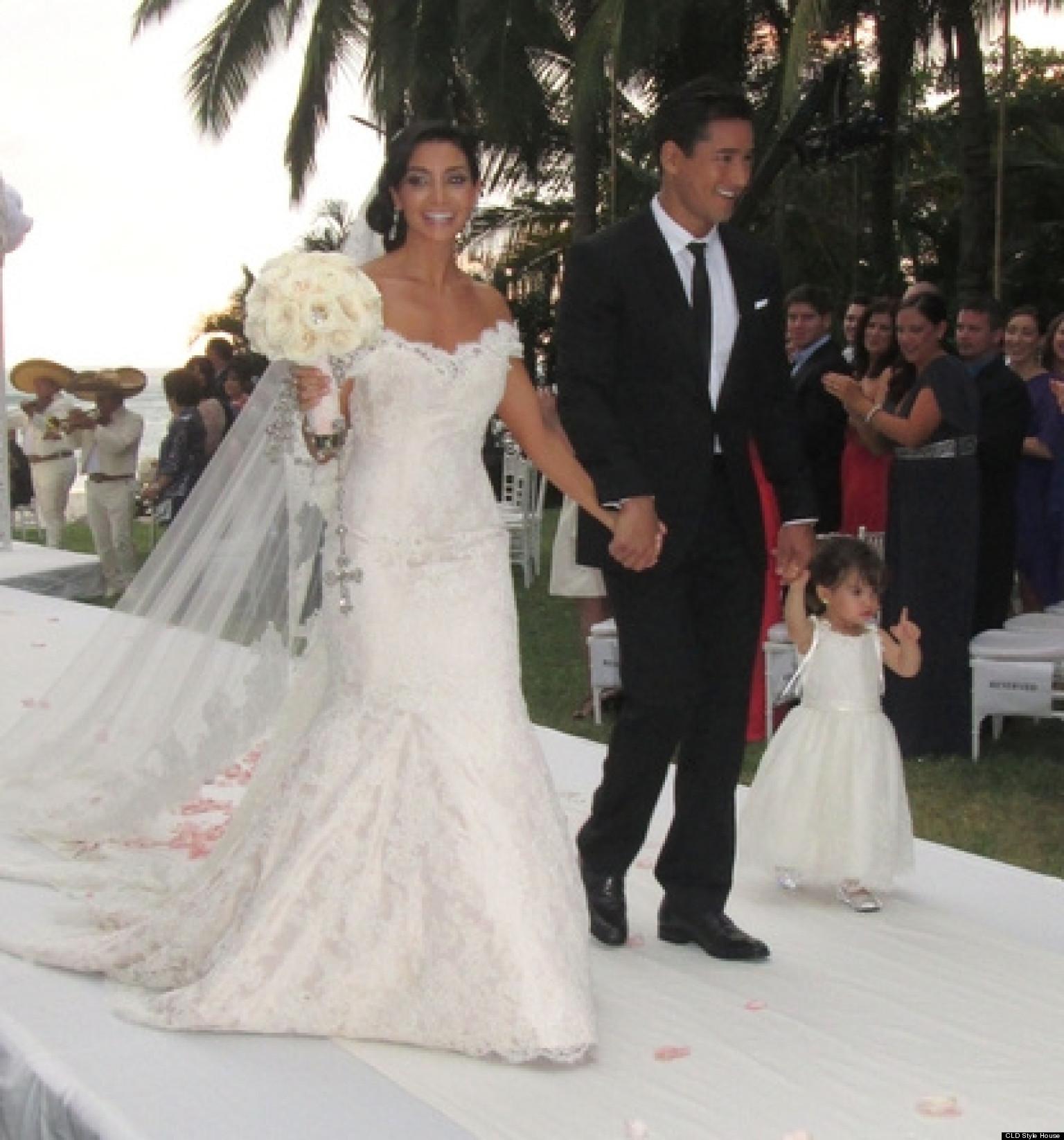 Bridal Photo Gallery: Mario Lopez Wedding: Photos From The 'Extra' Host's