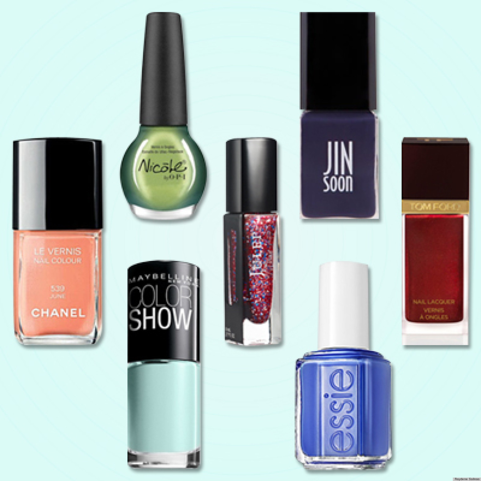 Best Nail Polish Colors Of 2012: Chanel \'June,\' Essie \'Butler Please ...