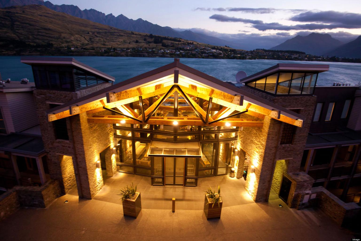 When Peter Jackson's production crew left Matamata, New Zealand, they left  17 hobbit holes