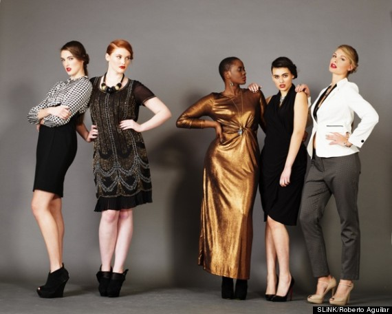 Plus Size Fashion Magazine Slink Features Models Sizes 8 16 On Cover