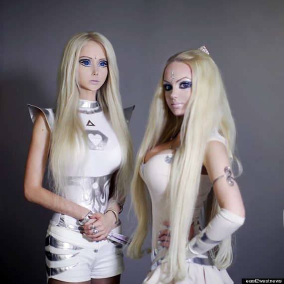human barbie twin