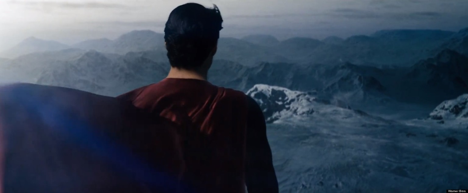 Image result for superman first flight man of steel
