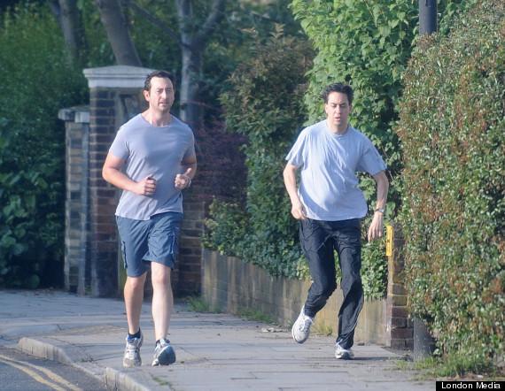 miliband running