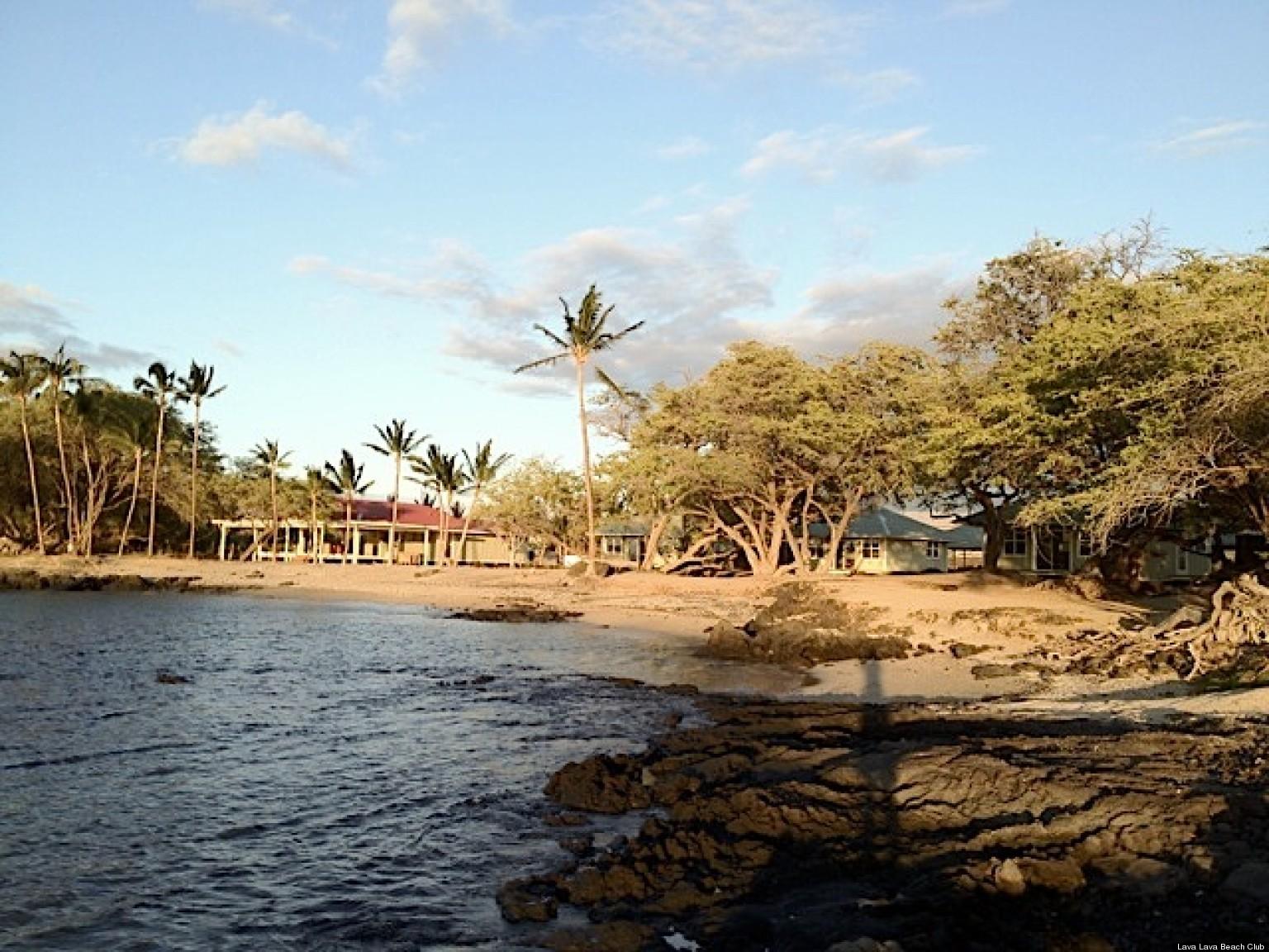 Lava Beach Club An Authentic Hawaiian Beachfront Destination Huffpost