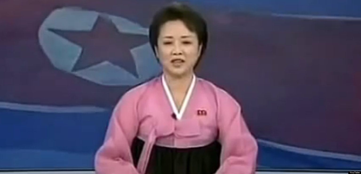 North Korean Kctv Anchor Is Super Excited About Rocket Launch Video