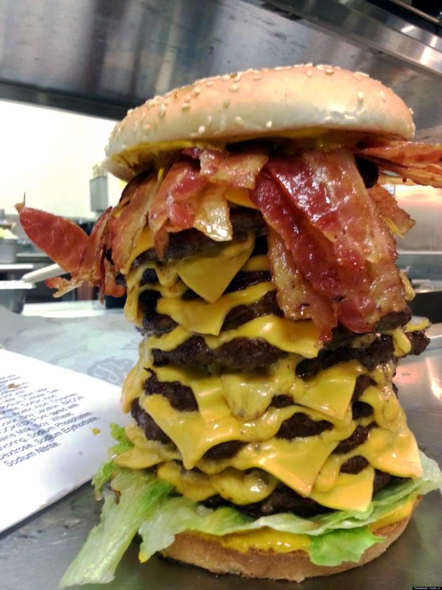 '12x12x12' Burger From Carl's Jr. Is An Apocalyptic Wonder ...
