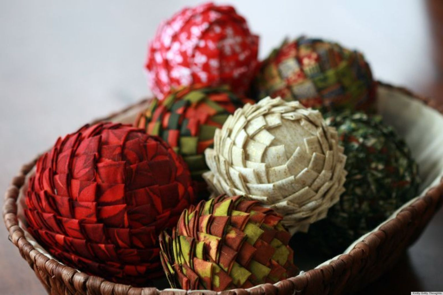 Ideas For Christmas Craft Part - 46: Christmas Craft Ideas: Fabric And Styrofoam Pine Cone Vase Fillers |  HuffPost