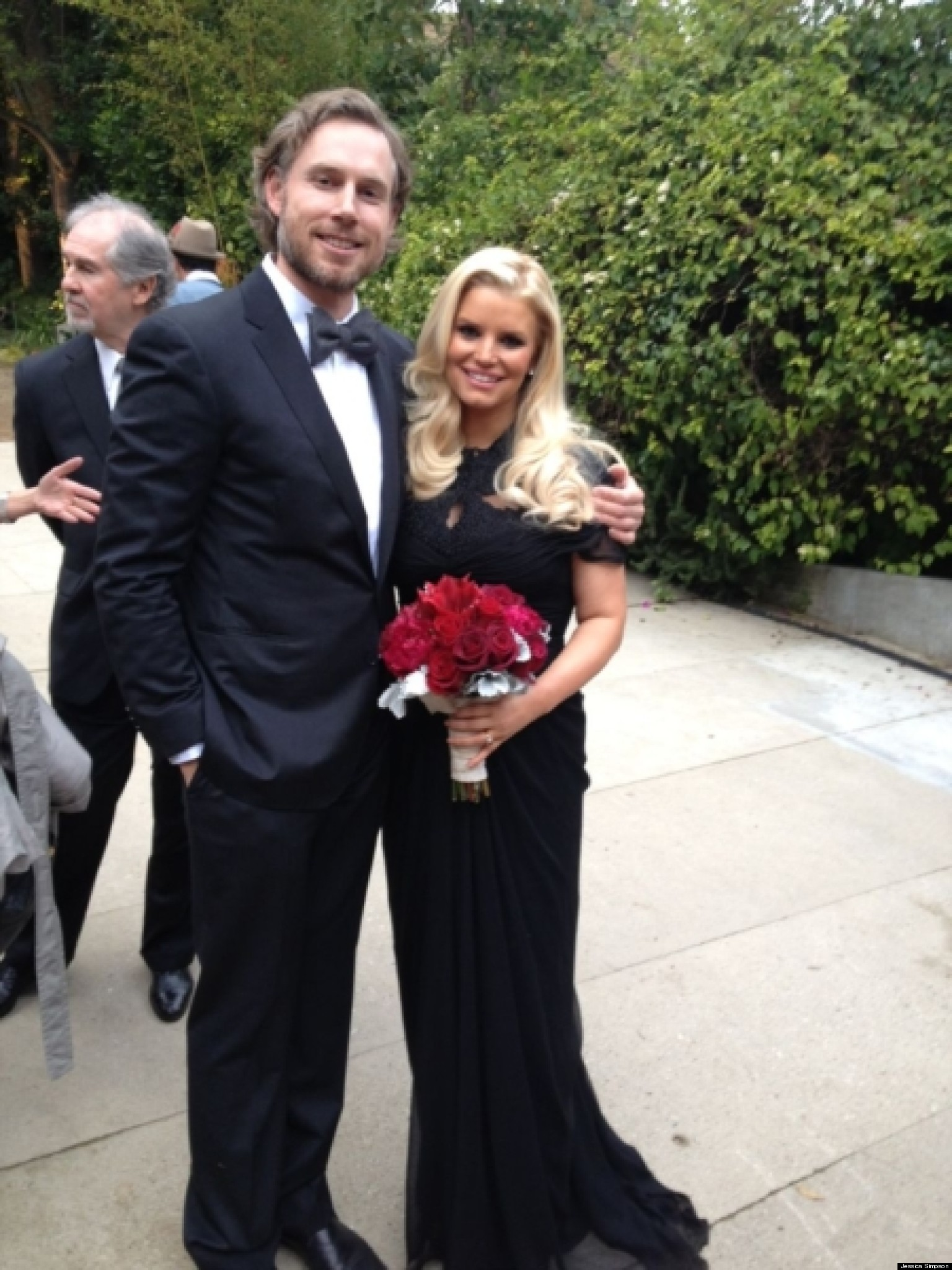 Jessica Simpson S Baby P Singer Looks Stunning At Wedding Photo Huffpost