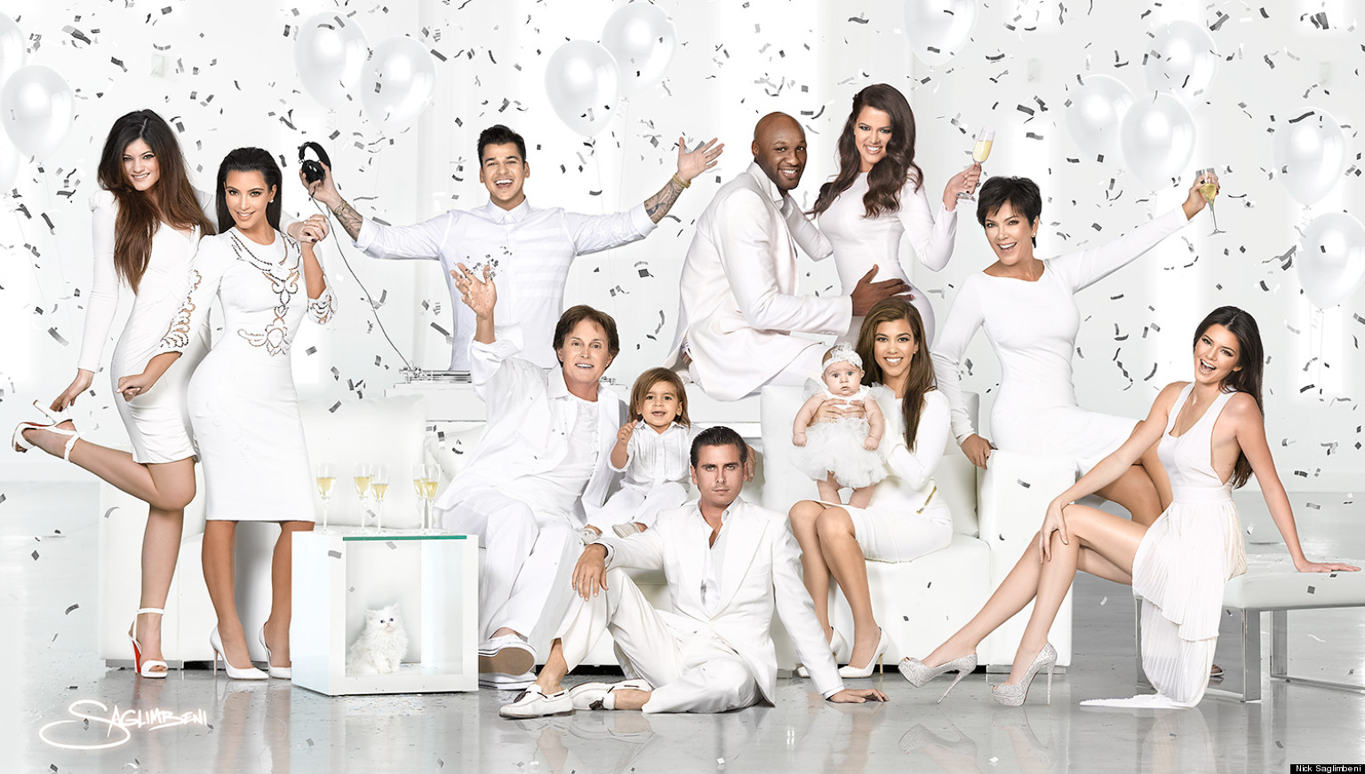 Kardashian Christmas Card 2012: Reality TV Family Release Annual ...