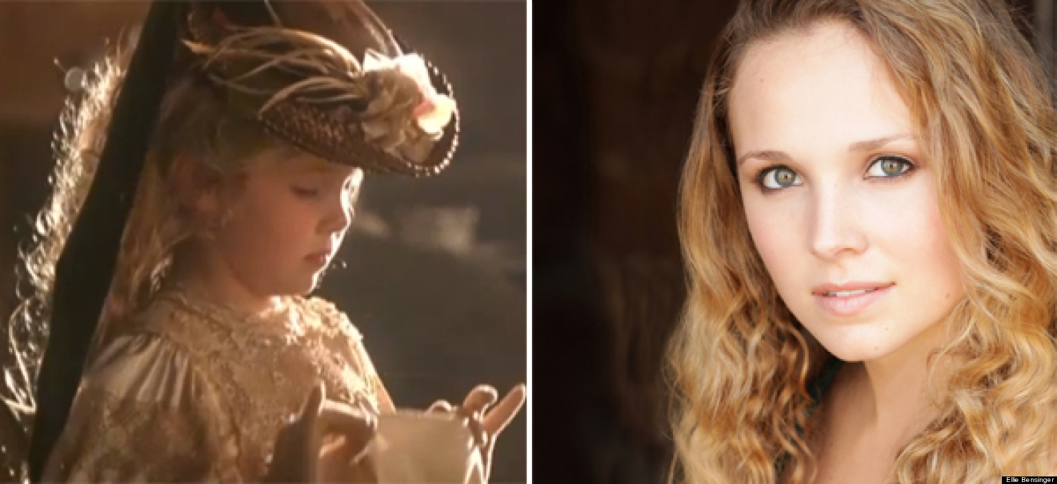 little girl in 'titanic': aspiring actress ellie bensinger played
