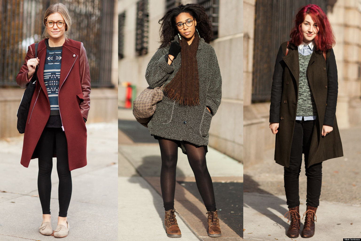 campus fashion: winter outfit inspiration from 15 stylish nyc