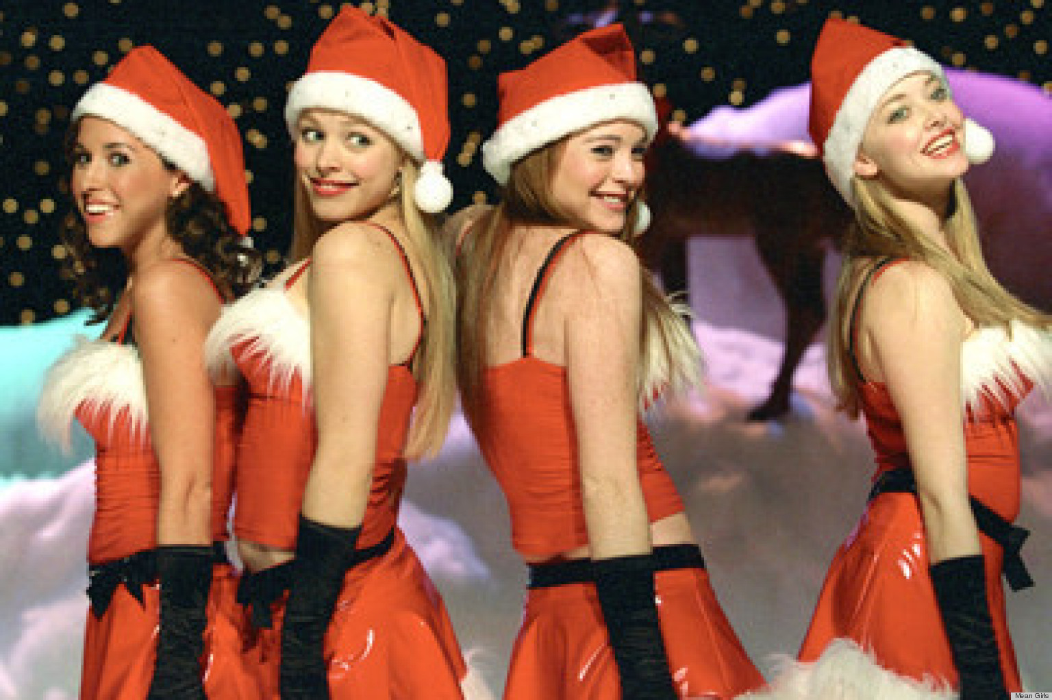 u0027Mean Girlsu0027 Jingle Bell Rock Outfits Are Still Our Favorite Christmas Costumes (VIDEO) | HuffPost  sc 1 st  HuffPost & Mean Girlsu0027 Jingle Bell Rock Outfits Are Still Our Favorite ...