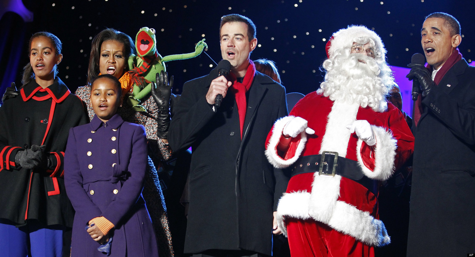 Barack Obama Christmas Message Urges Americans To Thank Troops ...