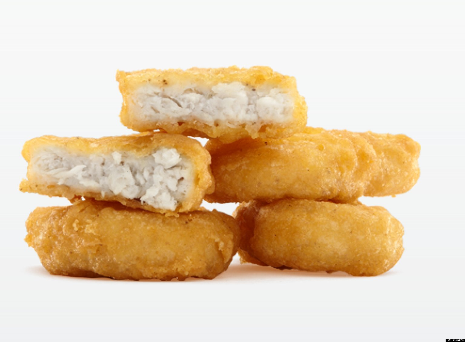 the truth about the chicken nugget Mcdonald's is aggressively pushing its chicken mcnuggets with a deal that prices each nugget at just one quarter sound good what you need to know: a serving is 4.