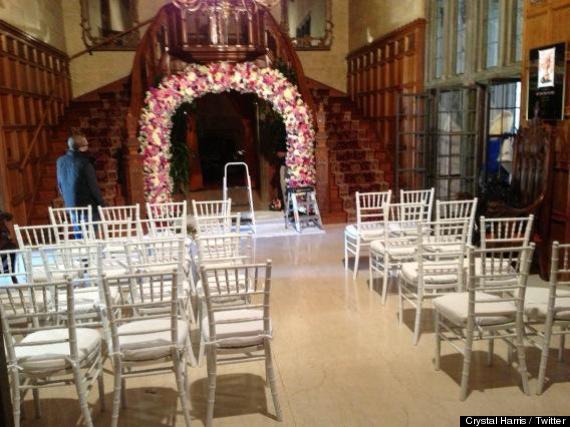hugh hefner crystal harris wedding