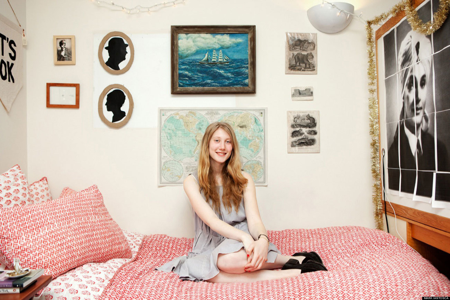 Dorm Room Decor Tour College Student Augusta Dayton S Huffpost