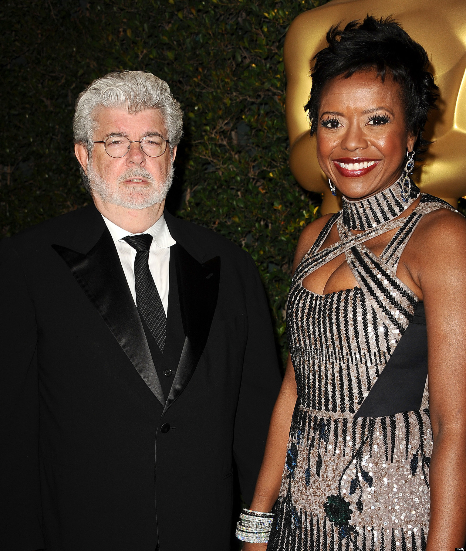 George Lucas, Mellody Hobson Engaged: 'Star Wars' Director