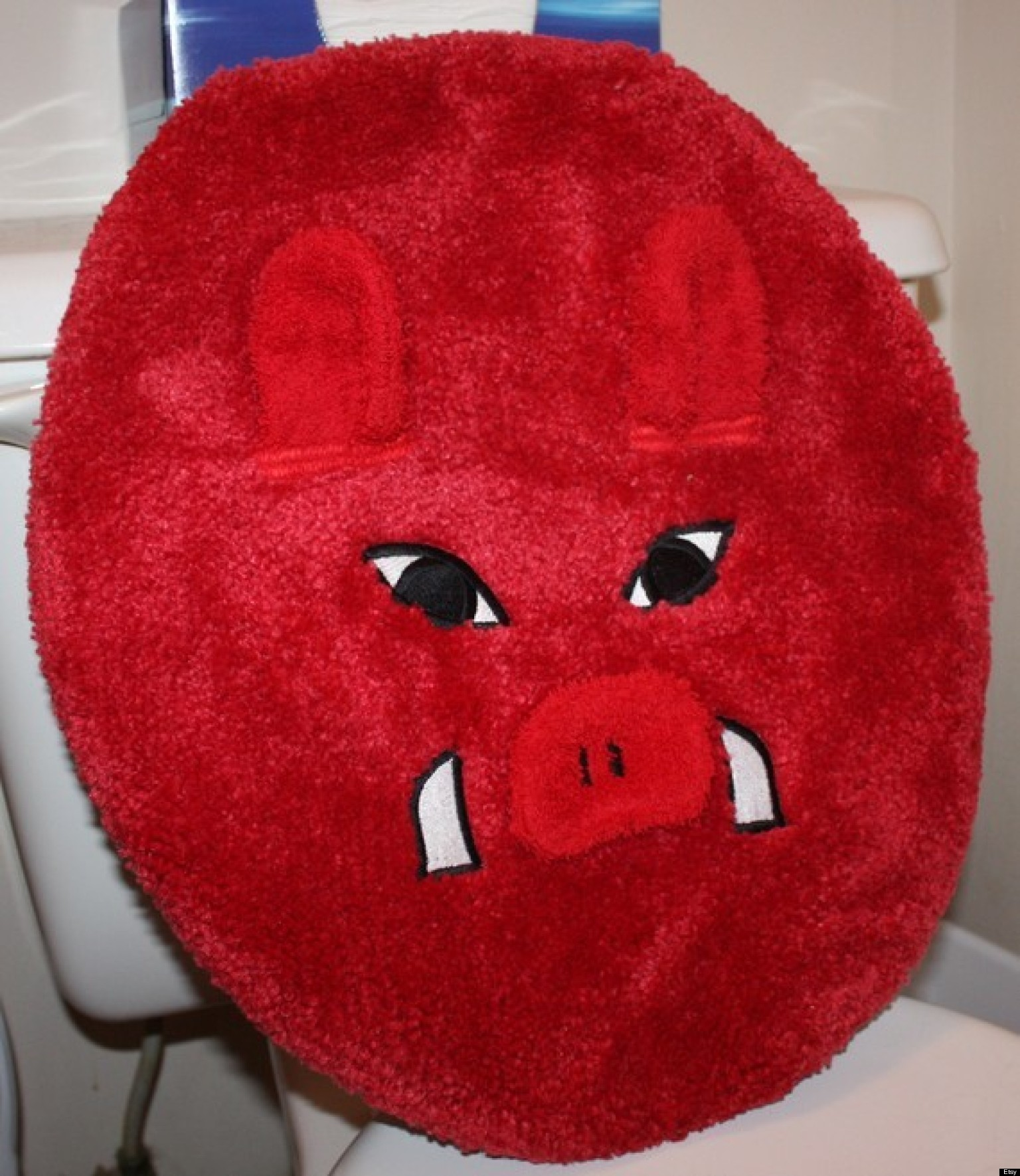 25 Ridiculous Toilet Seat Covers Photos Huffpost