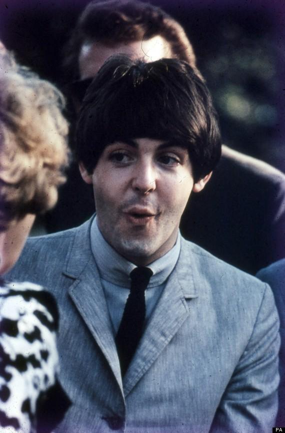 Paul McCartney In 1964