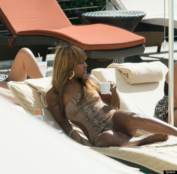alexandra burke bikini
