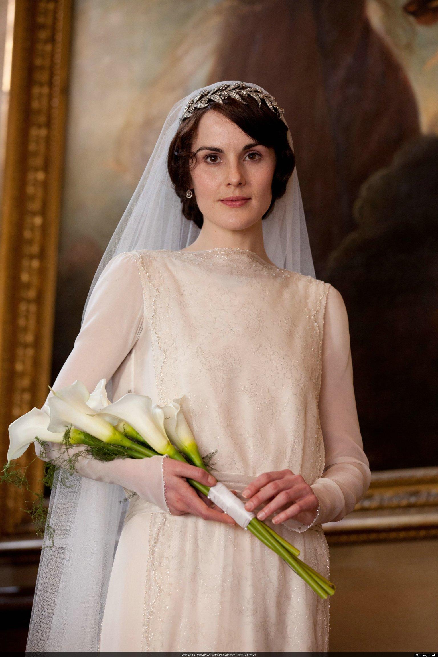 Downton Abbey Wedding Dress 18 Unique Mary and Matthew Crawley