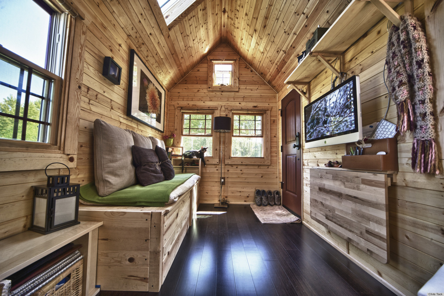 Chris And Malissa Tacku0027s Tiny Home Transformed This High Tech Couple Into  Simple Living Converts (PHOTOS) | HuffPost